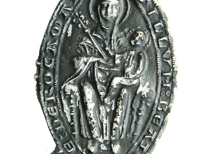 Maria in lood gegoten