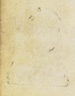 Detail van een pagina toont een afdruk van een buste-vormige pelgrimsteken. Het insigne zelf werd verwijderd.