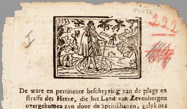 Sprinkhanen en tovenarij in 1747