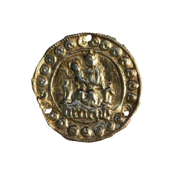 Een onbekend gestanst insigne van Aardenburg