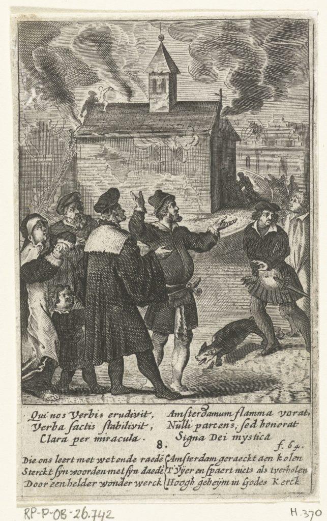 Het sacrament van Amsterdam overleeft de stadsbrand van 1452