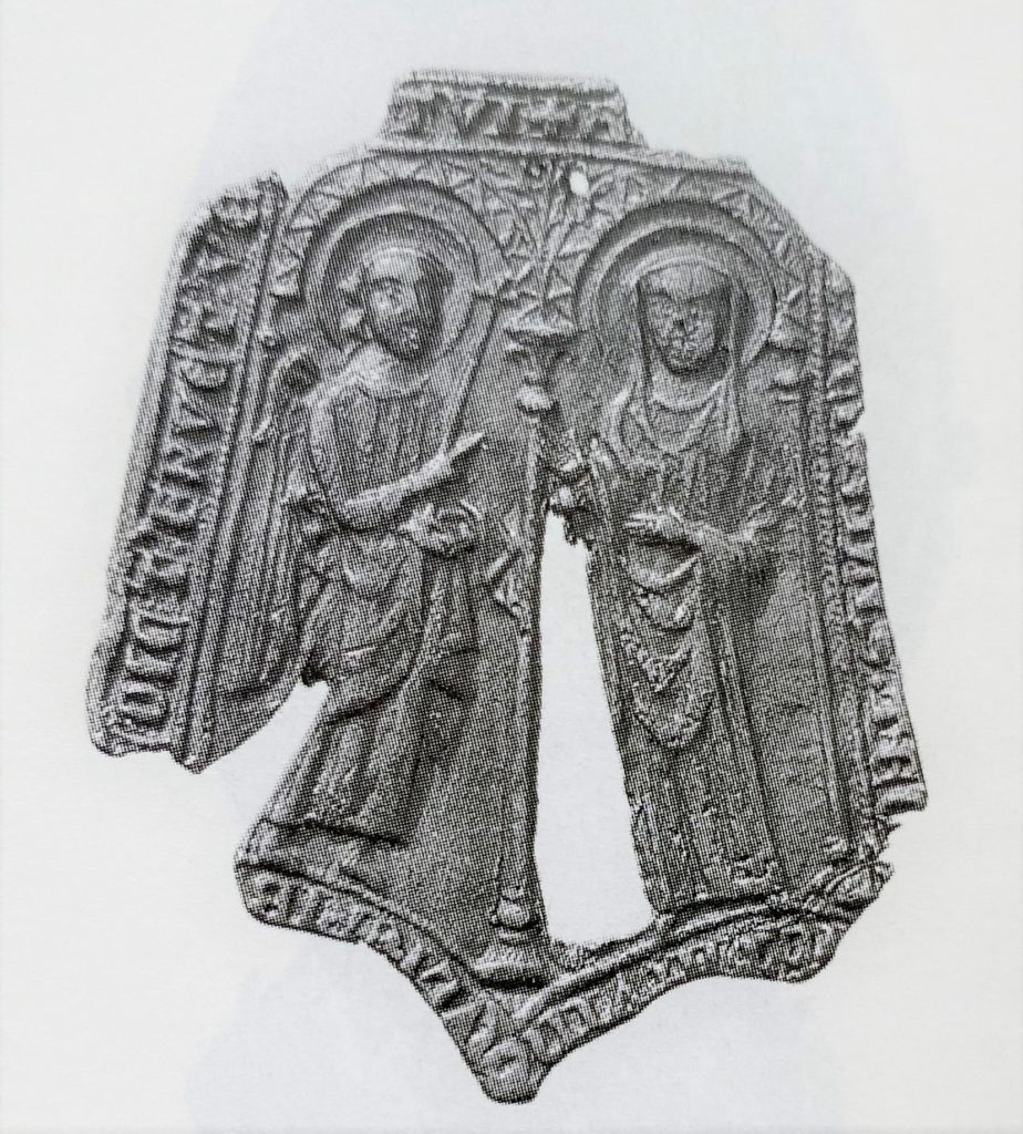insigne met de verkondiging gevonden in Dordrecht